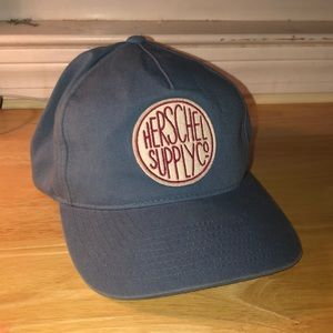 Blue Herschel Supply Co SnapBack hat